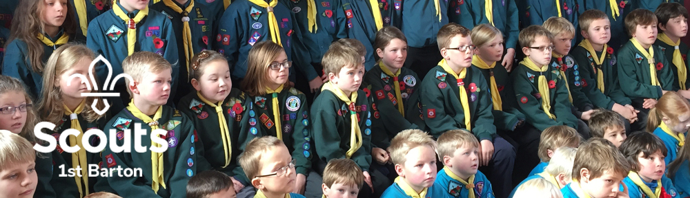 1st Barton Scout Group – Richmondshire, North Yorkshire